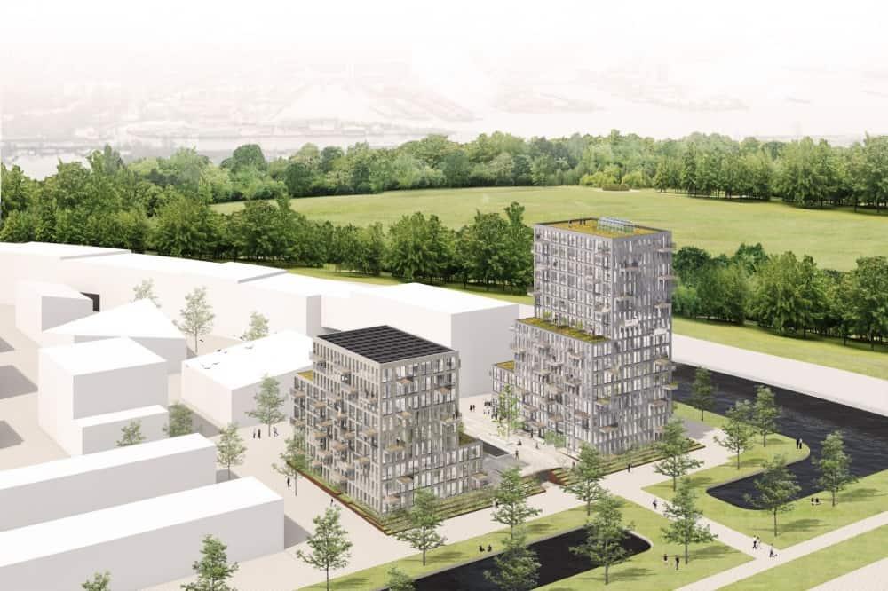 Zeeburgereiland Blok 1a + 1b