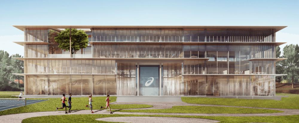 Europees hoofdkantoor Asics