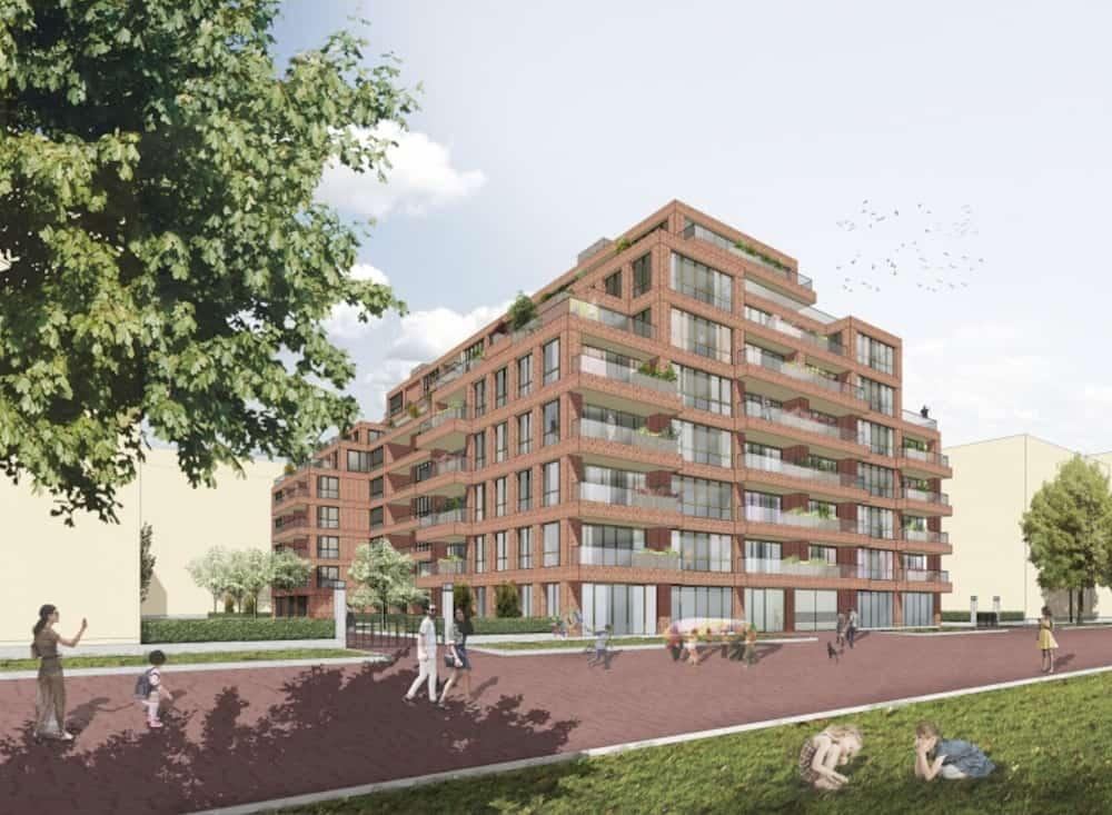 108 appartementen Statendam