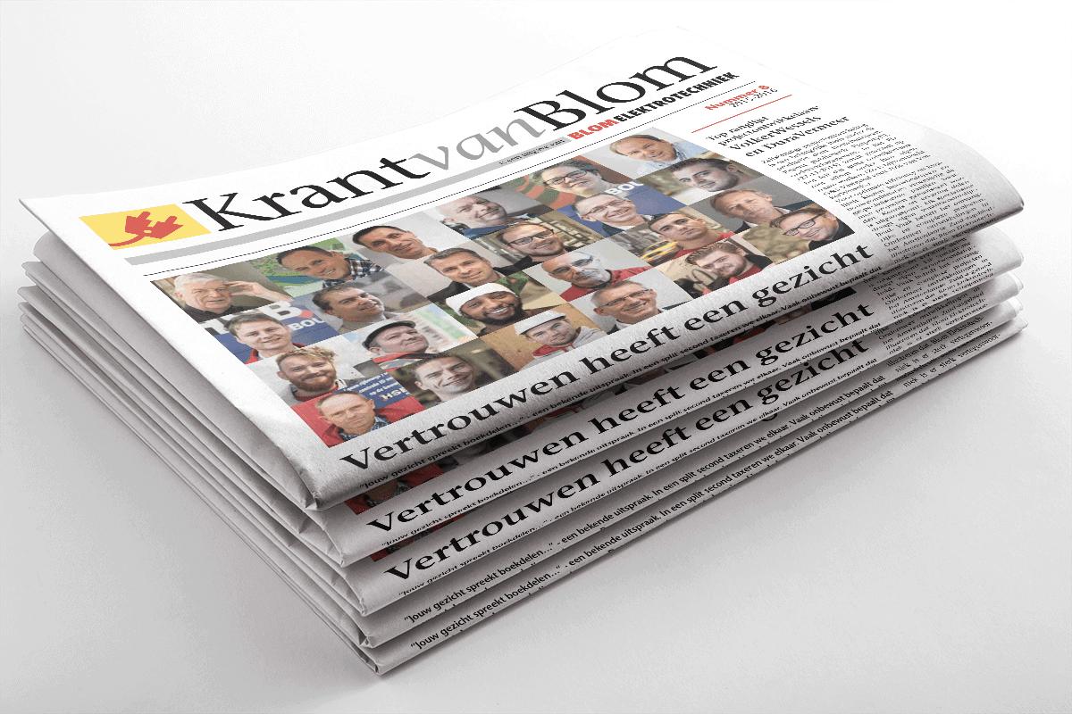 Krant van Blom 2015/2016