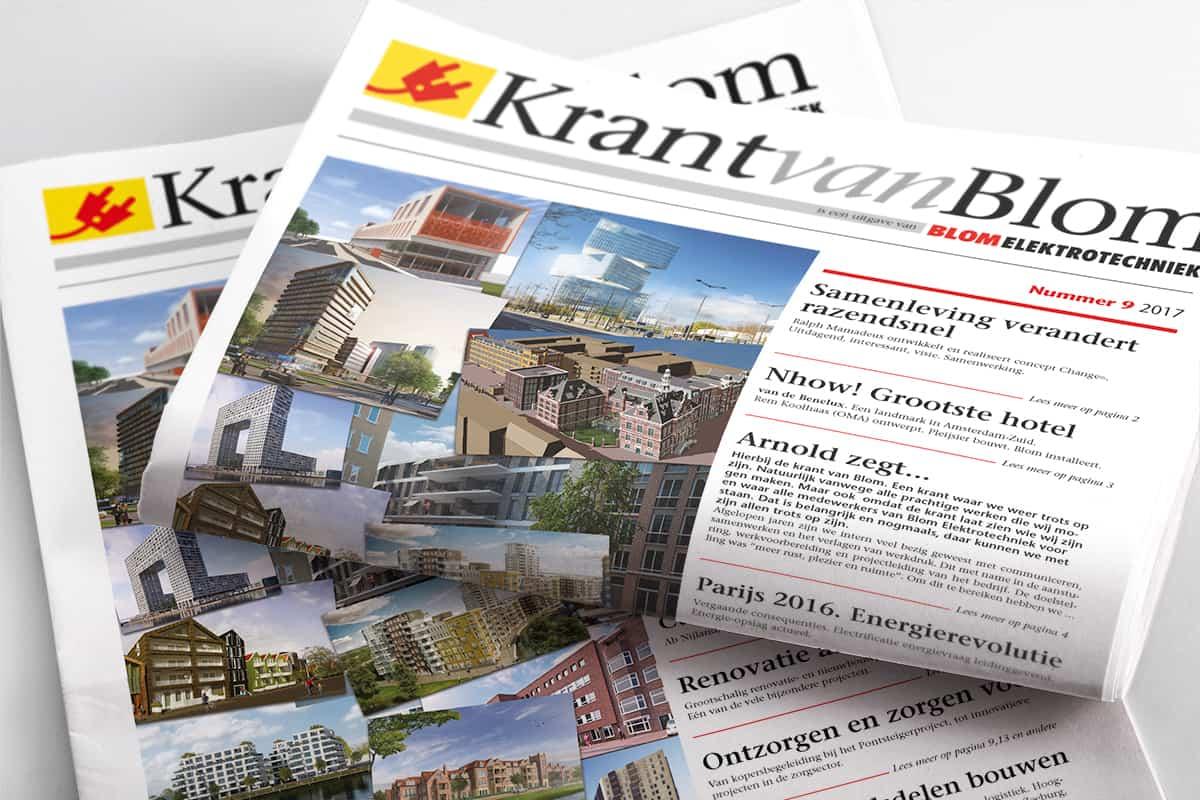 Krant van Blom 2017